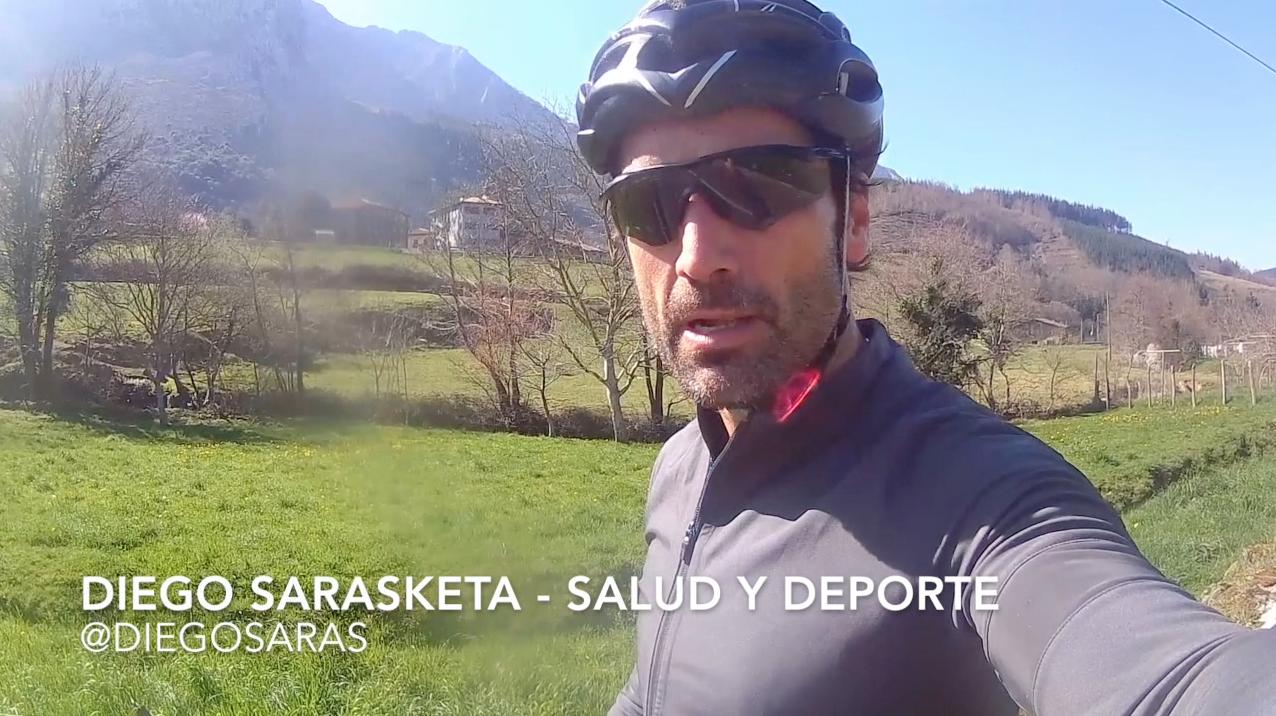 Diego Sarasketa hidratación